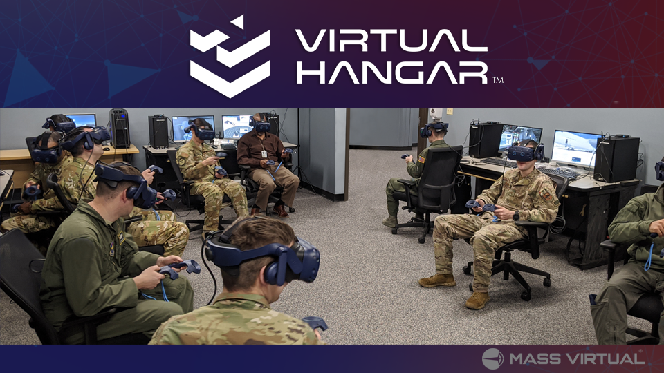 Group of soldiers using VR